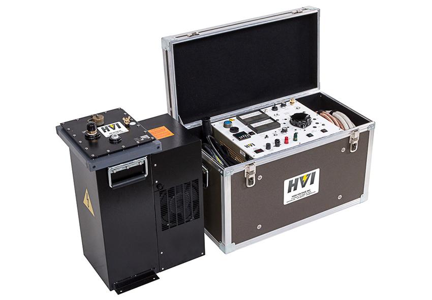 Low Voltage Hipot Tester : High voltage vlf cm repair inc