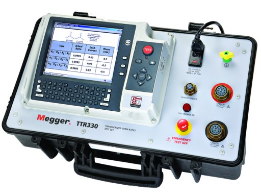 Megger TTR330 Three Phase Transformer Turns Ratio Test Set Repair